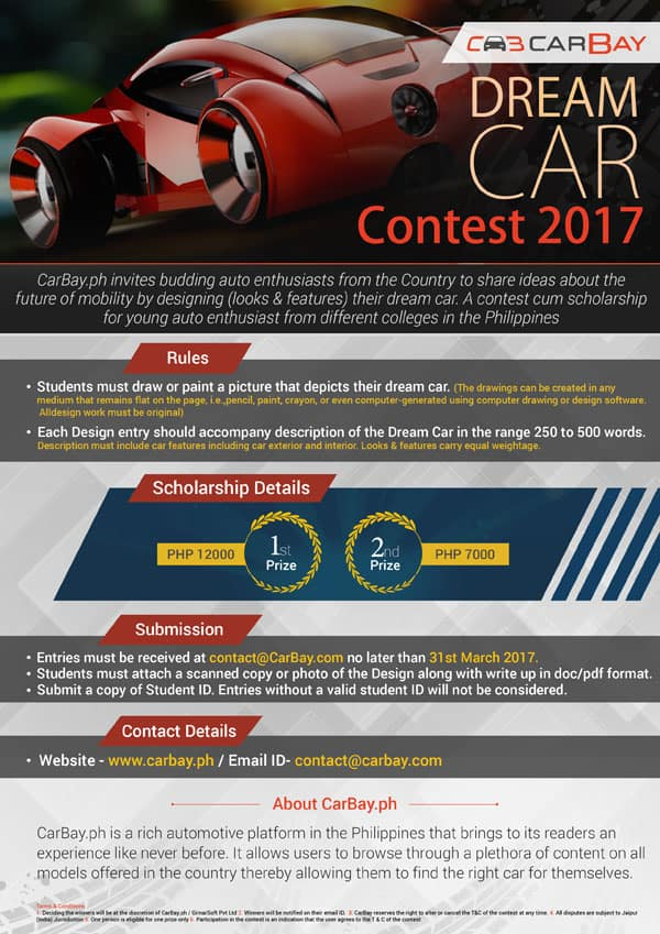 CarBay Dream Car Contest Final