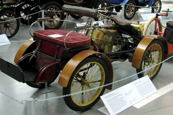 De Dion-Bouton Quadricycle car model