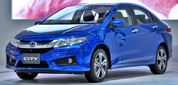Honda City (sixth generation) front