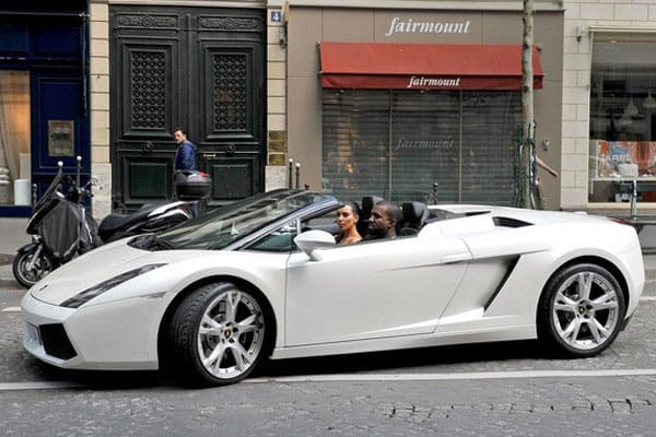 Kanye West car