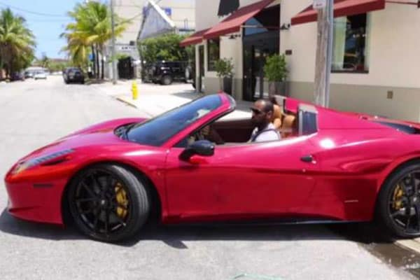 lebron james ferrari