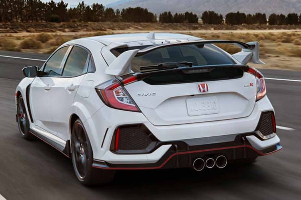 Stylish Honda Civic Type R