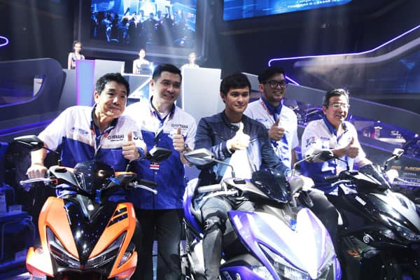 Matteo Guidicelli Filipino superstar for Yamaha