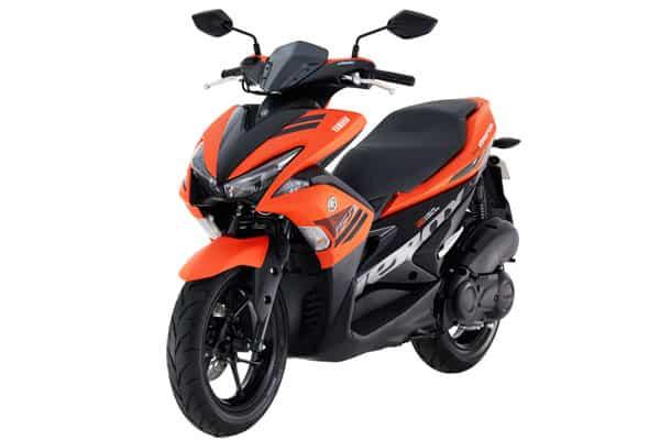 Yamaha Aerox 155 orange