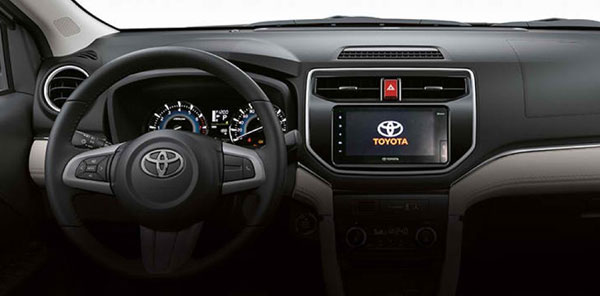 Toyota Rush Steering Wheel