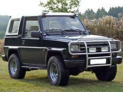 1987 Daihatsu Rocky 4WD