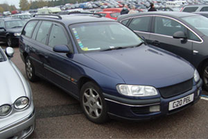 1999 Vauxhall Opel Omega 2.5 TD CDX state