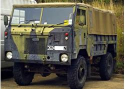 A Land Rover 101 Forward-Control