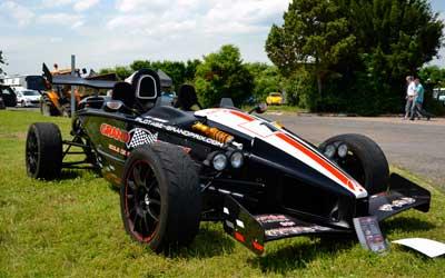 Ariel Atom race car