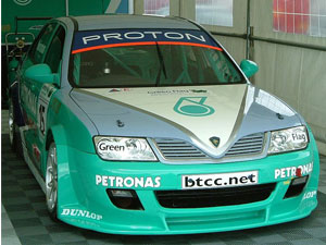 BTC T Proton Impian car model