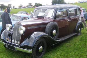 Big Six limousine 1936