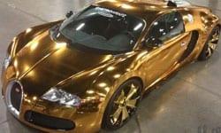 Bugatti gold