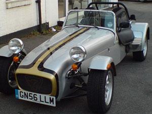 Caterham Roadsport car model