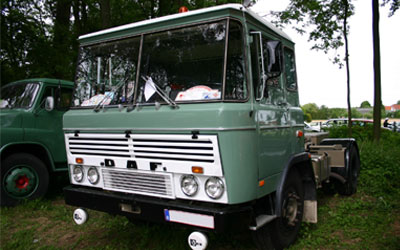 Classic DAF 2600 cab over truck