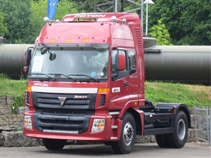 Foton Auman truck model
