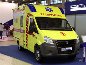 GAZelle ambulance