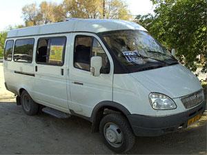 GAZelle minibus