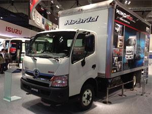 Hino 300 Series Hybrid