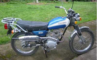 Honda CL125S