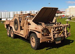 Long Range Patrol Vehicle