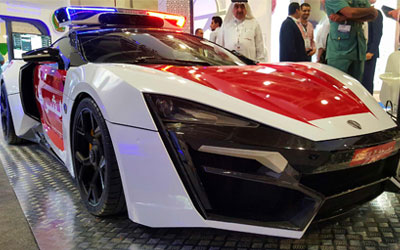 Lykan Hypersport Police Edition