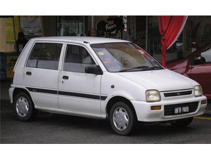 Perodua Axia Car Model