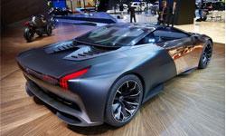 Peugeot concept car 2012