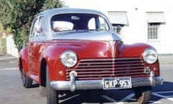 Peugeot old car