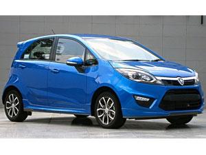 Proton Iriz car model