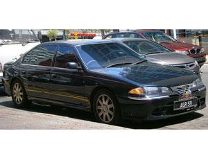 Proton Perdana car model