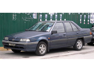 Proton Saga Iswara saloon car model