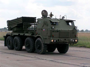 RM 70 multiple rocket launcher