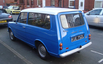 Reliant Rebel estate