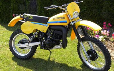 SUZUKI PE 400 T model