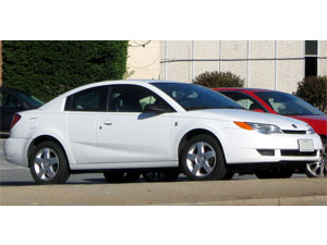 Saturn Ion coupe