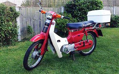 Suzuki FR50 model
