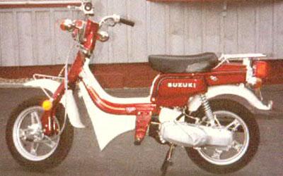 Suzuki FZ50 model