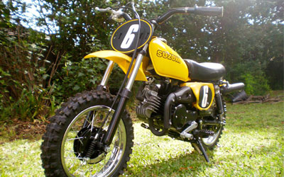 Suzuki JR50 model