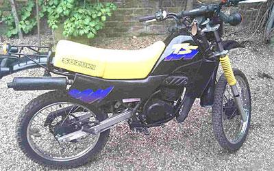 Suzuki TS50X model