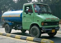 Tata 407 water truck