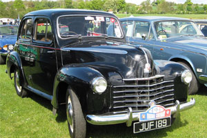 Velox 4 door Saloon 1948