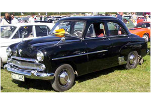 Velox 4 door Saloon 1955