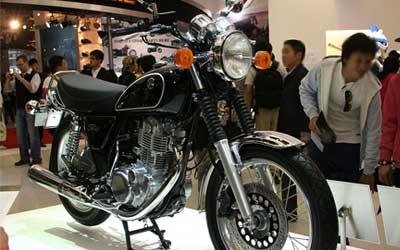 Yamaha SR400 & SR500