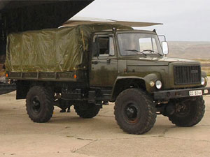 four wheel drive truck Sadko