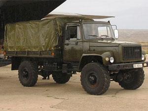 four wheel drive truck Sadko