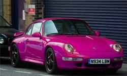 porsche color pink