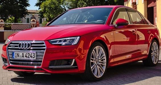 Audi A4 car model