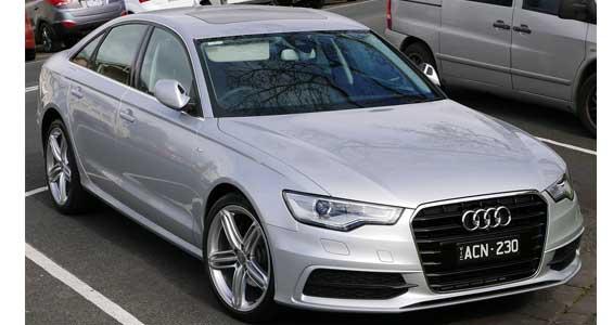 Audi A6 car model