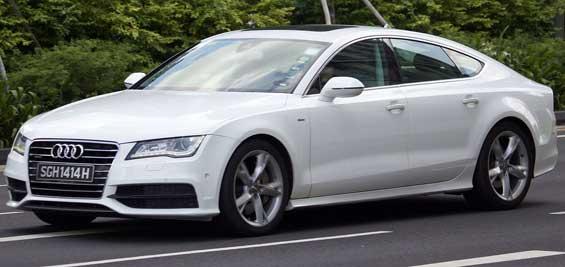 Audi A7 car model