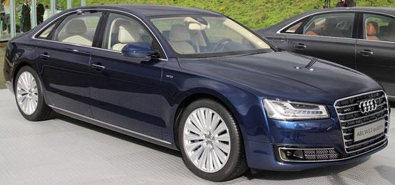 Audi A8 car model
